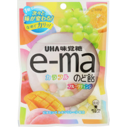 UHA E-ma Throat Lozenge Colorf...