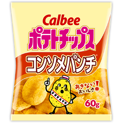 Calbee Potato Chips Consomme P...