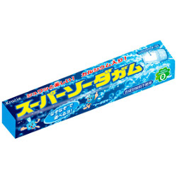 Kracie Super Soda Gum 5 Grains
