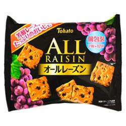Tohato All Raisins Family Size...