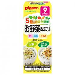 Pigeon Baby vegetable furikake...