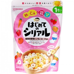 Wakodo first cereal green-yell...